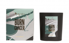 Burn Cancer doftljus - Gold - Victorian