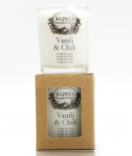 Klinta & CO Lilla massageljuset - Vanilj & Chili