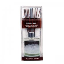 WoodWick - Escape Reed Diffuser Evening Rain - Doftpinnar