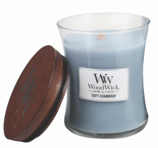woodwick soft chambray medium