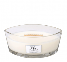 WoodWick - White Tea & Jasmine Ellipse - Doftljus