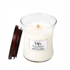 woodwick white tea & jasmine medium