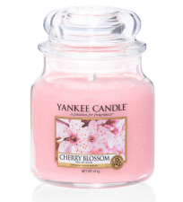 Yankee Candle Cherry Blossom Medium Jar - Doftljus