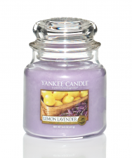 Yankee Candle Lemon/Lavender Medium Jar