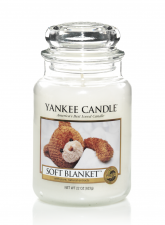 Yankee Candle Soft Blanket Large Jar - Doftljus