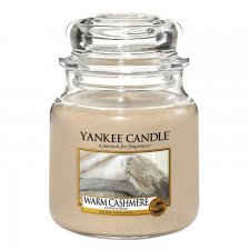 Yankee Candle Warm Cashmere Medium Jar - Doftljus