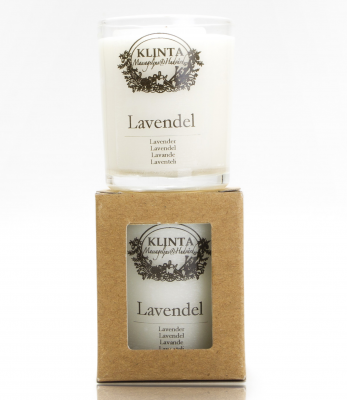 Klinta & CO Lilla massageljuset - Lavendel