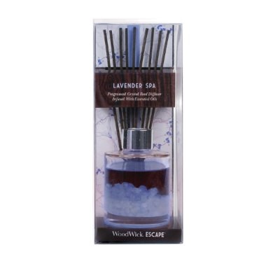 WoodWick - Escape Reed Diffuser Lavender Spa - Doftpinnar