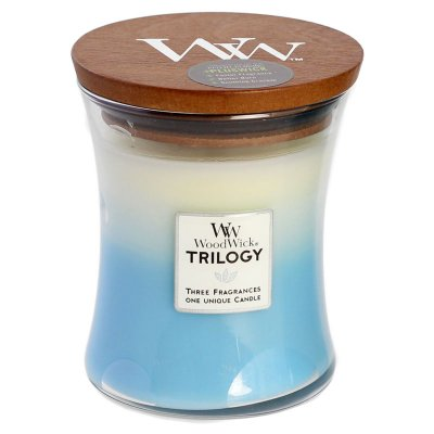 WoodWick Trilogy - Fresh & Clean - Doftljus