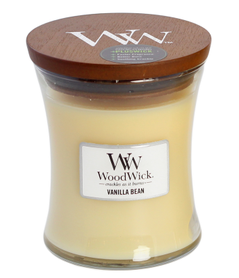 Woodwick Vanilla Bean - Medium
