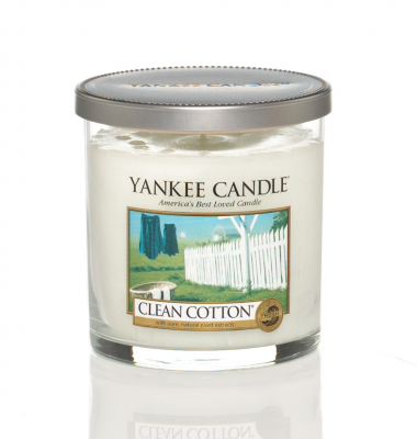 Yankee Candle Clean Cotton 7 Oz Tumbler
