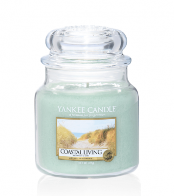 Yankee Candle Coastal Living Medium Jar - Doftljus