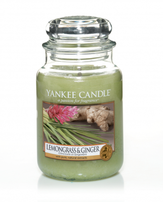 Yankee Candle Lemongrass & Ginger Large Jar