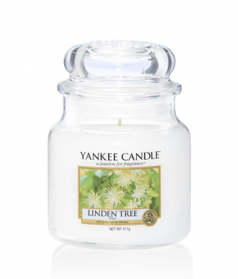 Yankee Candle Linden Tree Medium Jar - Doftljus