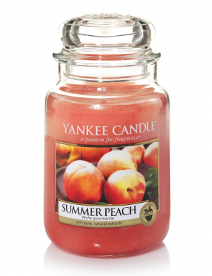 Yankee Candle Summer Peach Large Jar