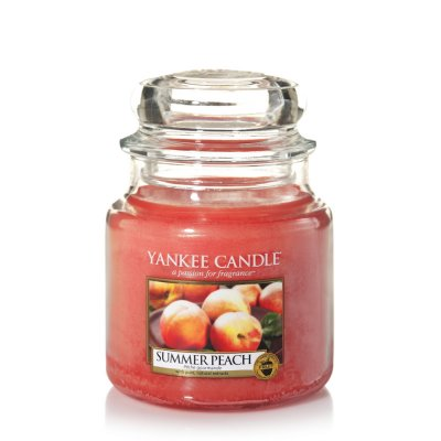 Yankee Candle Summer Peach Medium Jar